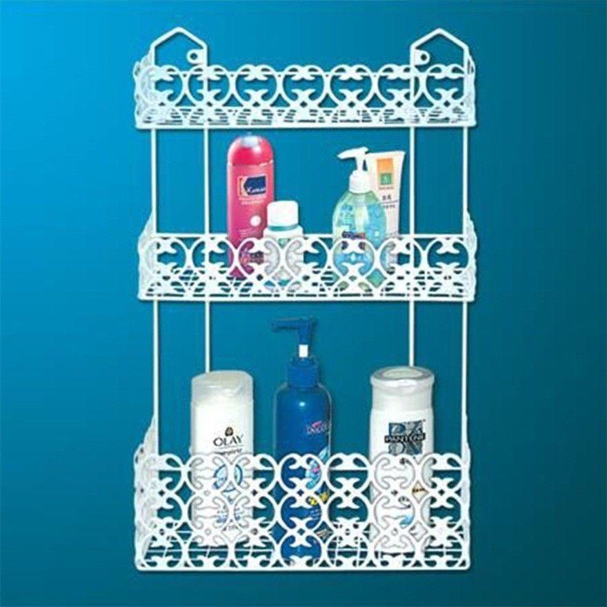 Details zu Weiße Schnitzen Küche Badezimmer Veranstalter