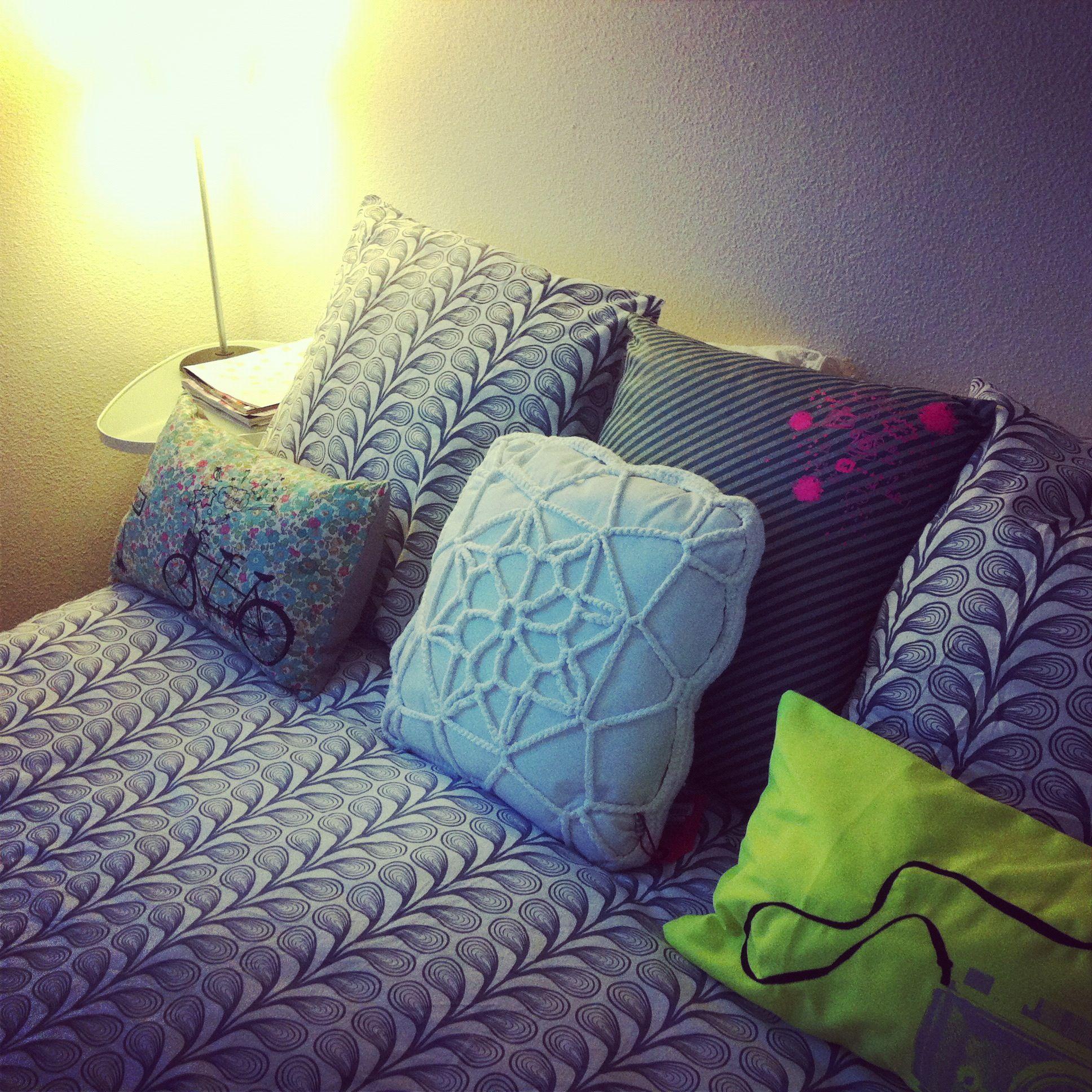 Linge de lit ikea choisi par india mahdavi pour elle - Linge de lit ikea ...