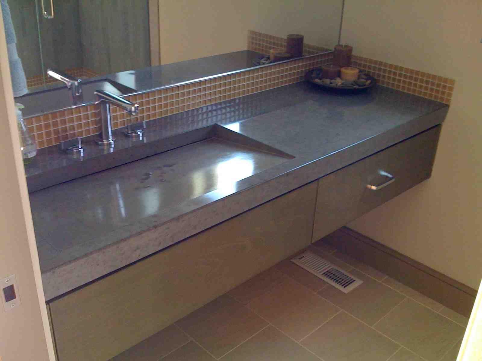 Concrete Sink Mold 16 Single Sink Kitchen Mdfyw Com Concrete Sink Concrete Sink Molds Single Sink Kitchen