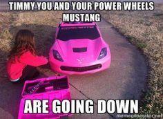 She must have smart parents #Corvettes