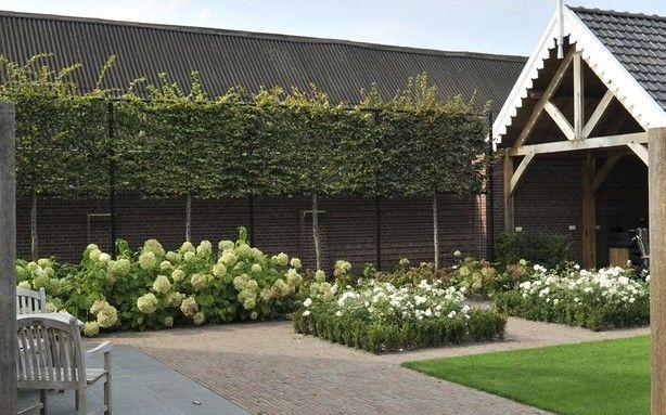 Bestrating tuin terras voorbeeld tuinen pinterest terras facebook en tuin - Ideeen terras ...