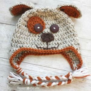 10 Free Animal Hat Crochet Patterns « The Yarn Box The Yarn Box 0b070fa5dbe