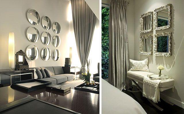 Ideas para decorar con espejos en el hogar mirrors for Espejos redondos para decoracion