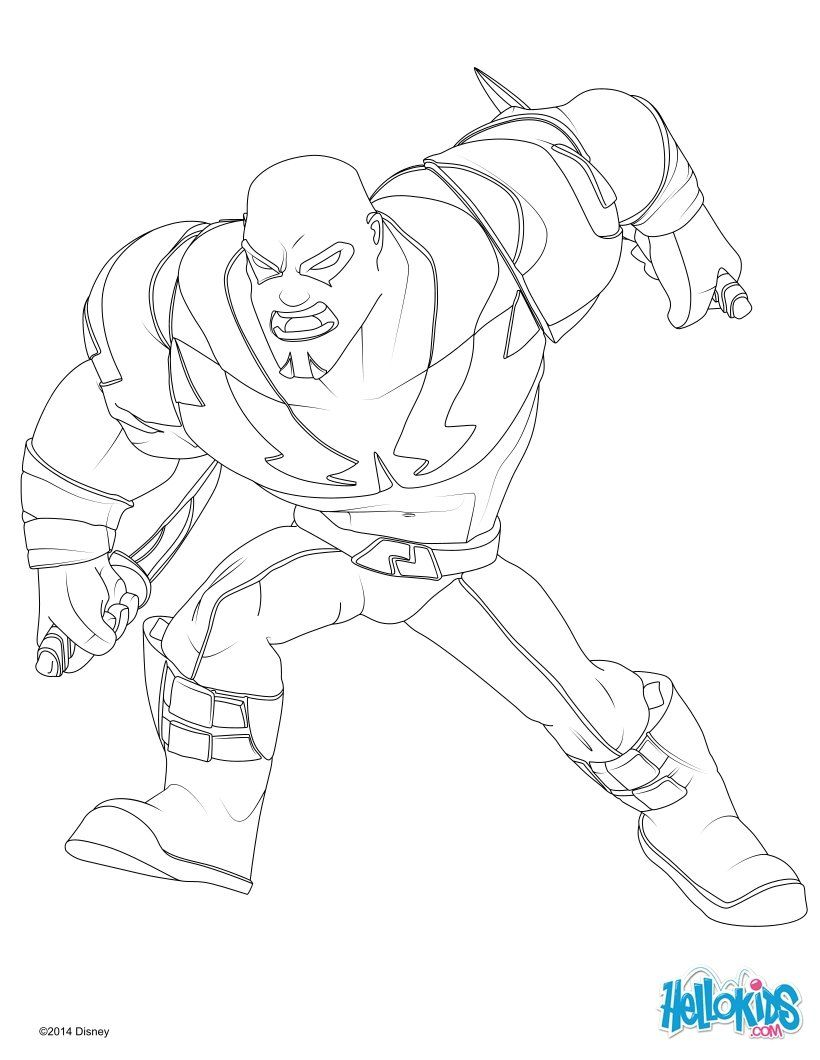 Super Hero Squad - Iron Fist by UltimateRubberFool | LineArt: Super ...