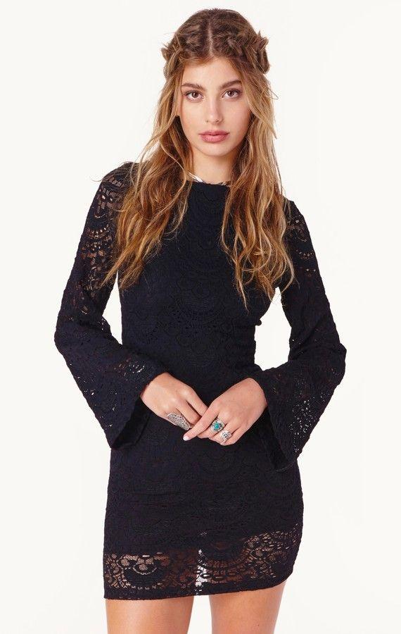 Nightcap SPANISH PRISCILLA DRESS