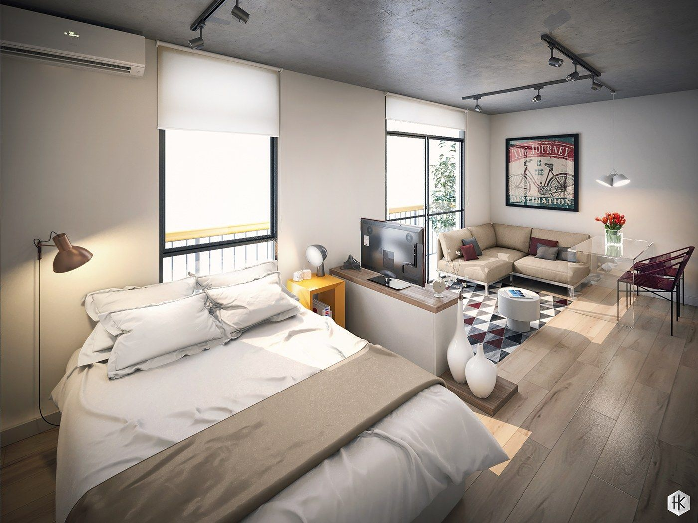 5 small studio apartments with beautiful design on stunning minimalist apartment décor ideas home decor for your small apartment id=31661