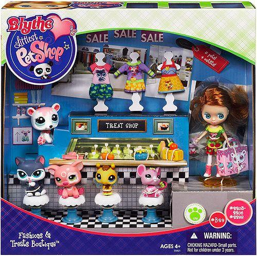 Littlest Pet Shop Blythe Treat Boutique Shop Playset With Doll Pet Figures Walmart Com Pet Shop Little Pet Shop Toys Little Pets