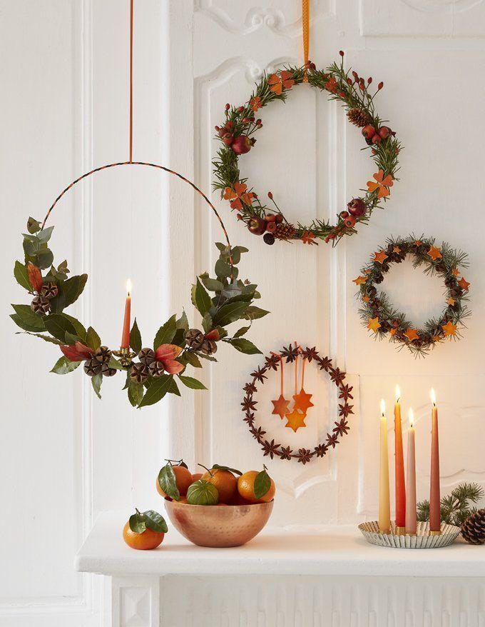 Maak een geurige kerstkrans met schors – Céleste Bouchayer …