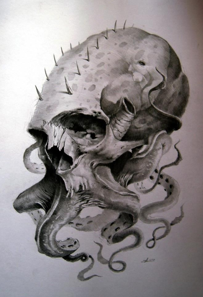 andrey skull who owns under the skin tattoo studio in silistra bulgaria created this cool. Black Bedroom Furniture Sets. Home Design Ideas