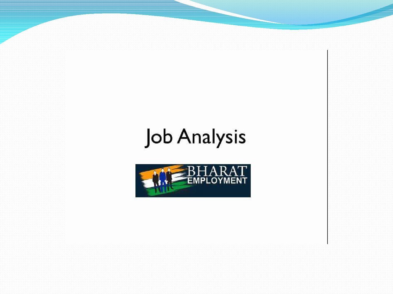 Bharat Employment  Job Analysis And Employment Service