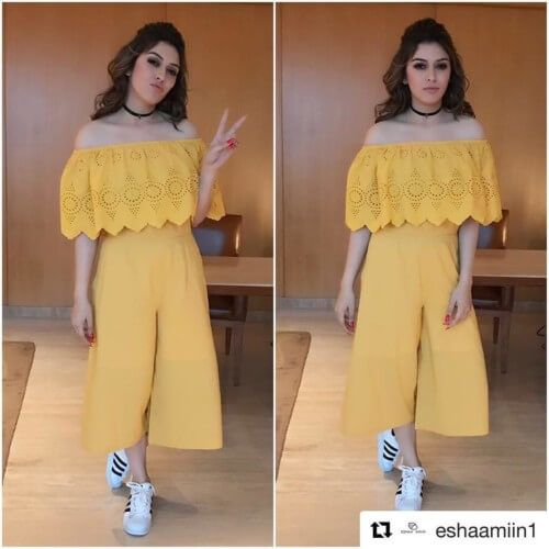 Hansika Motwani Hairstyles With Puff Bollywood Hairstyles Chic Outfits Trending Outfits