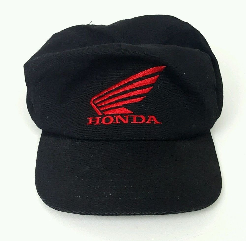 5cb14c23 Rare Vintage HONDA Ride Red Black SNAPBACK HAT BALL CAP #CAP   Hats ...