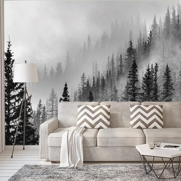 Enchanted Forest Wall Mural Wallpaper Wall Murals Diy Forest Wall Mural Bedroom Murals