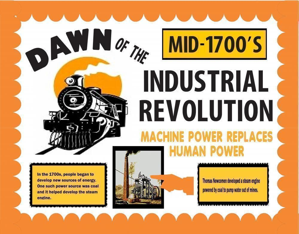 Make A Learning Poster About The Industrial Revolution Us History Poster Ideas Industrial Revolution Learning Poster History Posters