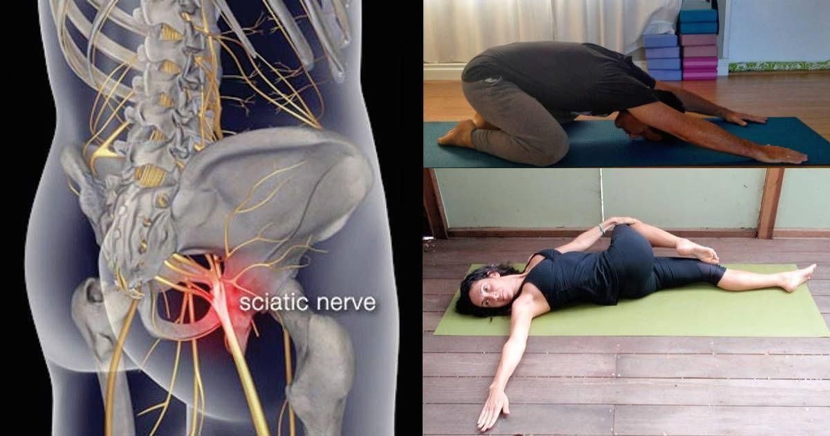5 easy yoga moves for lower back pain caused by sciatica they re