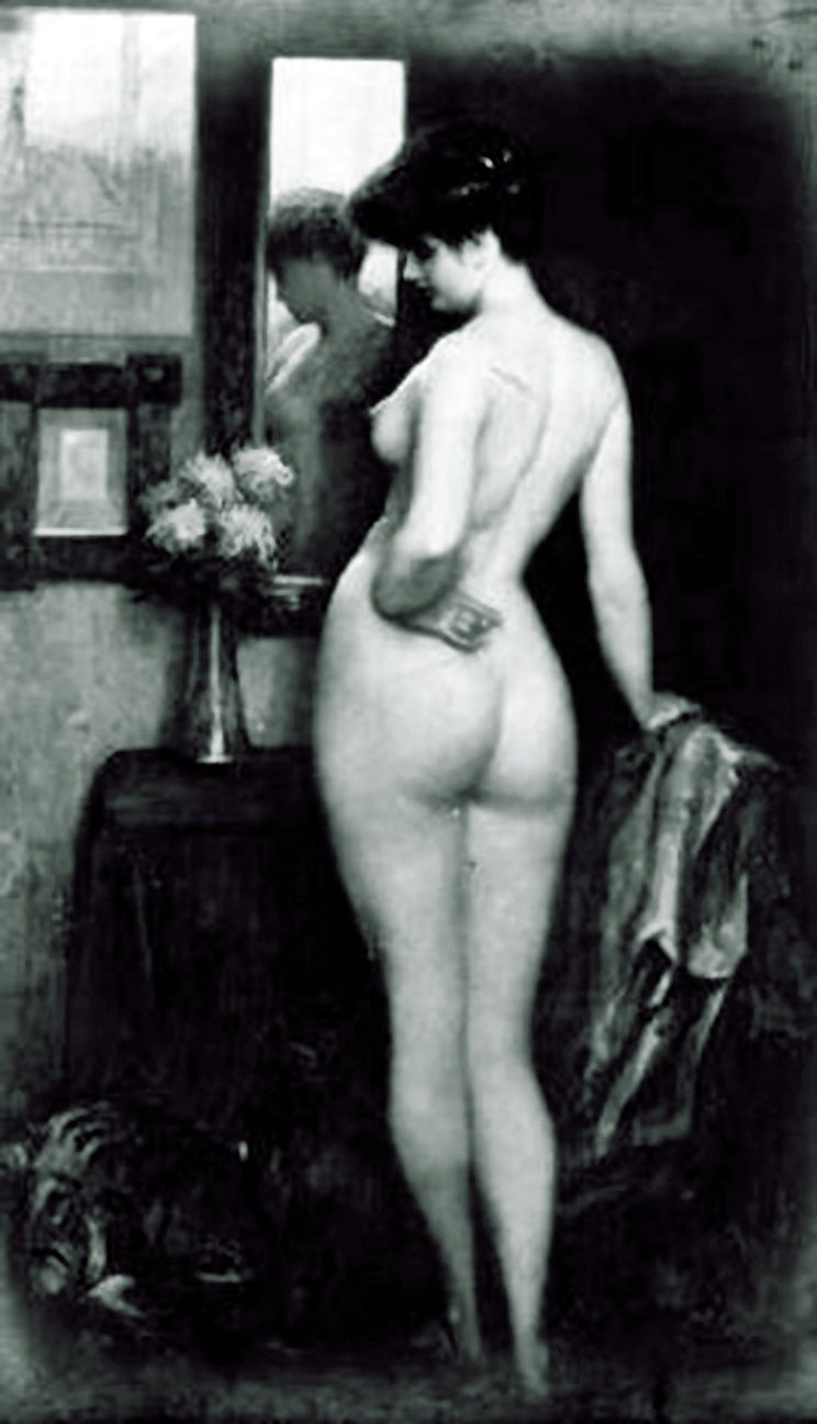 Vintage nude spanking confirm