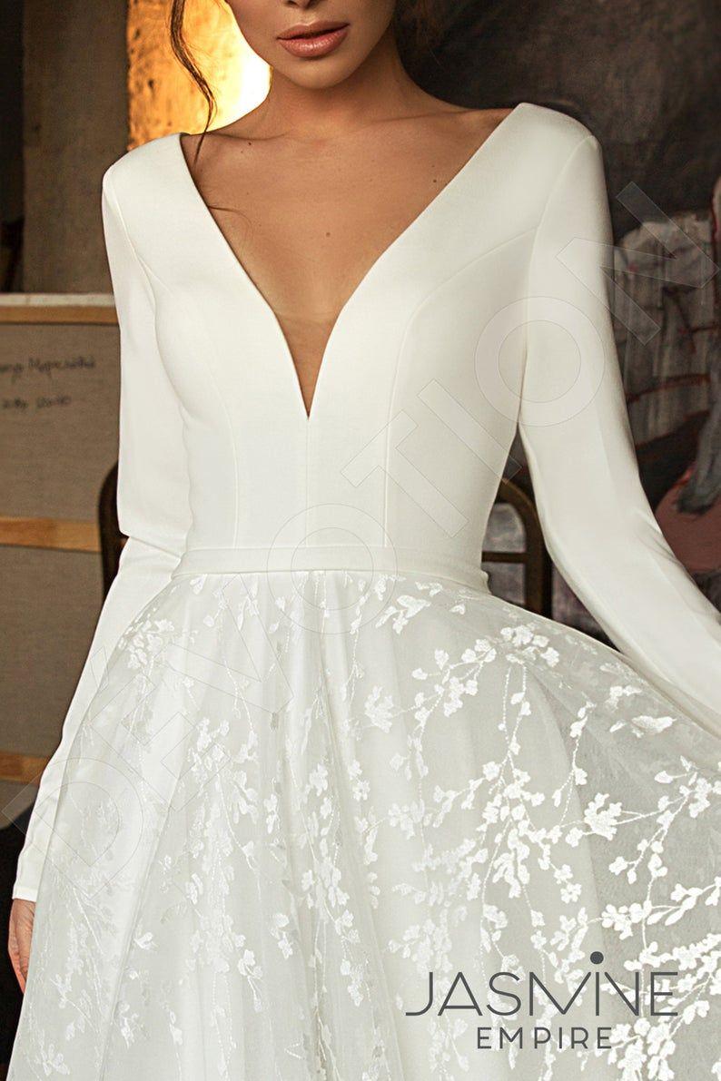 Photo of Individual size A-line silhouette Bonna wedding dress. Elegant style by DevotionDresses