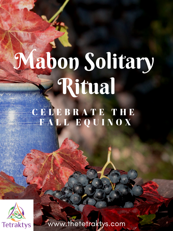 Mabon Solitary Ritual: Celebrate the Fall Equinox #maboncelebration