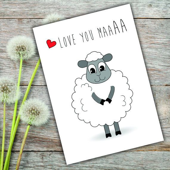 Love You Maa Card for MumMom PRINTABLE DIGITAL DOWNLOAD