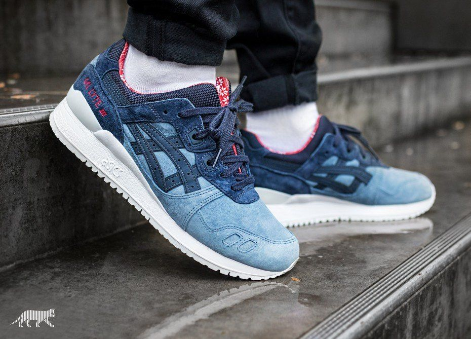Asics Gel-Lyte III *X-Mas Pack* (Blue Mirage / India