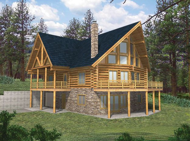 House Plans Home Plans And Floor Plans From Ultimate Plans Log Cabin House Plans Log Cabin Floor Plans Cabin House Plans