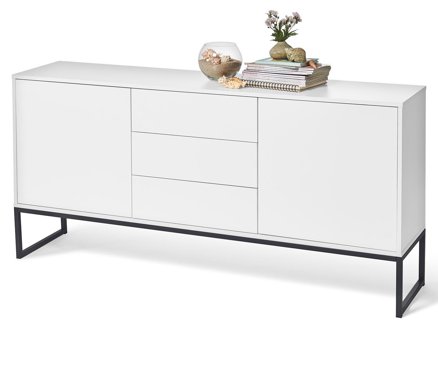sideboard wei online bestellen bei tchibo 321800 sideboards pinterest sideboard weiss. Black Bedroom Furniture Sets. Home Design Ideas