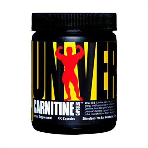 Universal Nutrition Carnitine 500mg, 60-Count * Learn more by visiting the image link.
