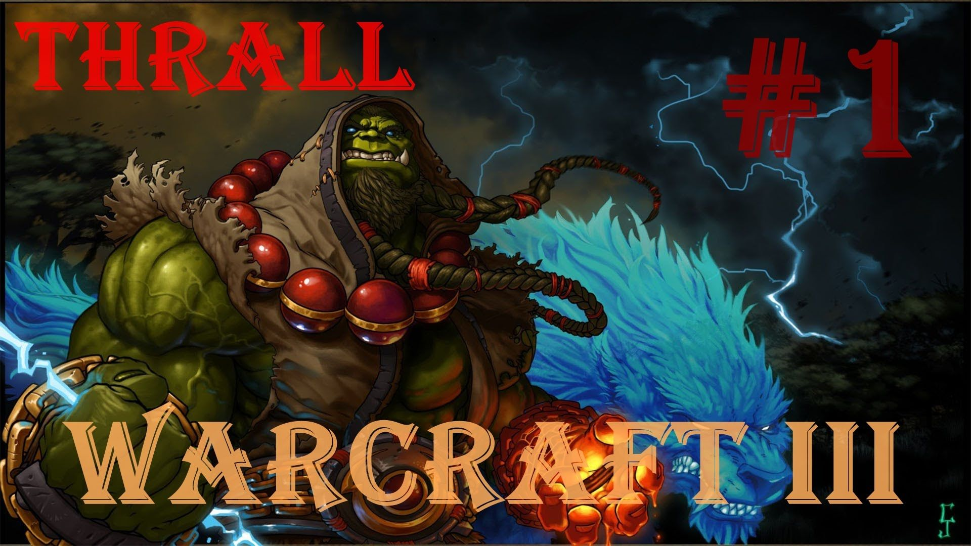 Warcraft III : Reign or Chaos - Exodus of the Horde (Thrall) Chapter 1