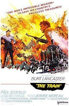 The Train 1964 Film Wikipedia The Free Encyclopedia Train Movie Movie Posters Vintage Movie Posters