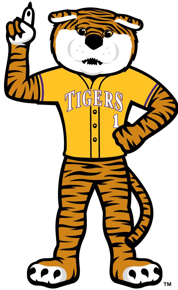 LSU Tigers Mascot Logo (2014) -