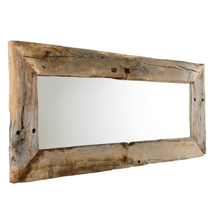 Rahmen Spiegel Aus Eiche Altholz Natur Geburstet Montage Hoch Quer M Spiegel Holz Bilderrahmen Holz Altholz