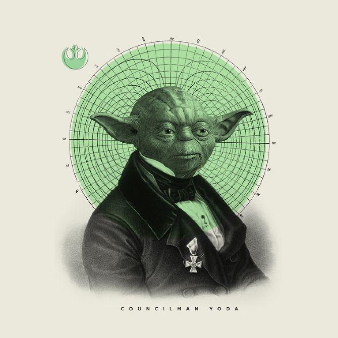 Mr Yoda to you