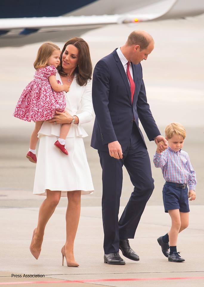 Royal state visit to Poland and Germany, July 2017 - The Fab 4 of Cambridge