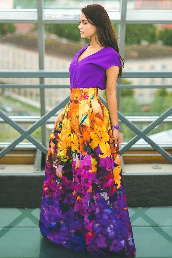 b9464e3045ab1 Plus Size Maxi Skirt