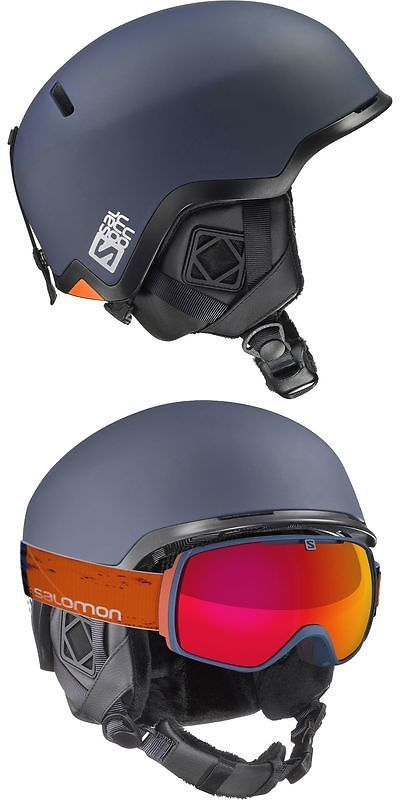 9e4a0ed362 Protective Gear 36260  Salomon Hacker Ski Helmet BUY IT NOW ONLY   79.96