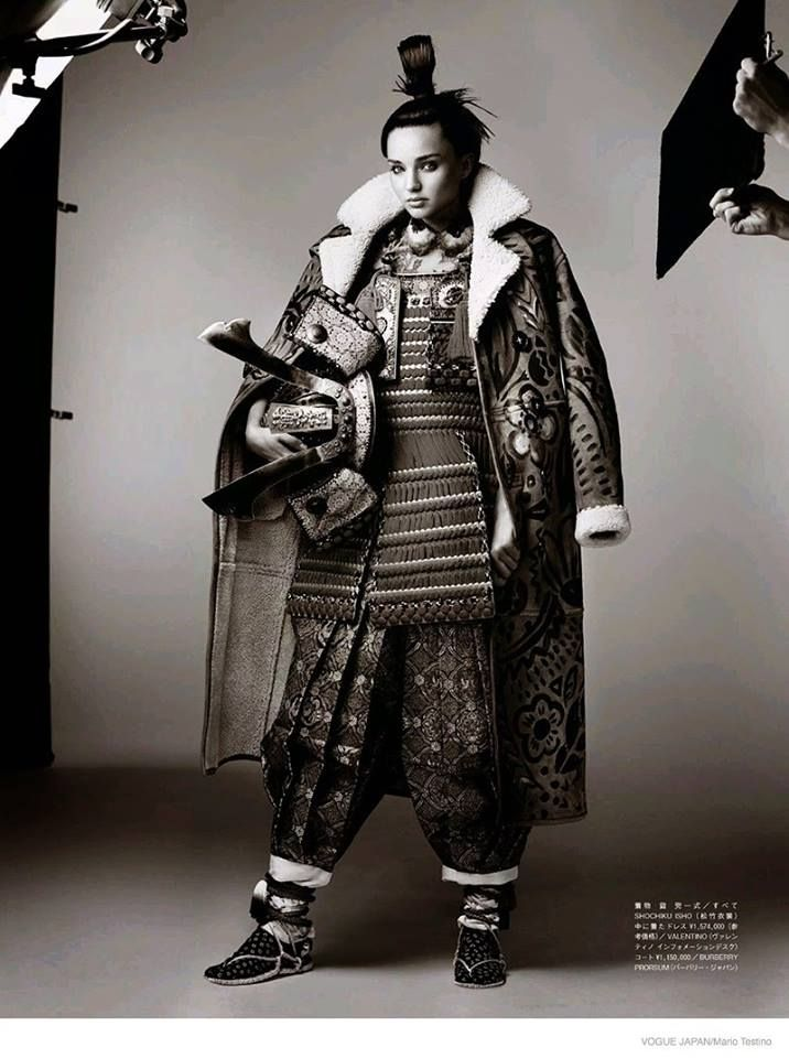 Vogue Japan's November 15th anniversary Issue  Photographed by Mario testino