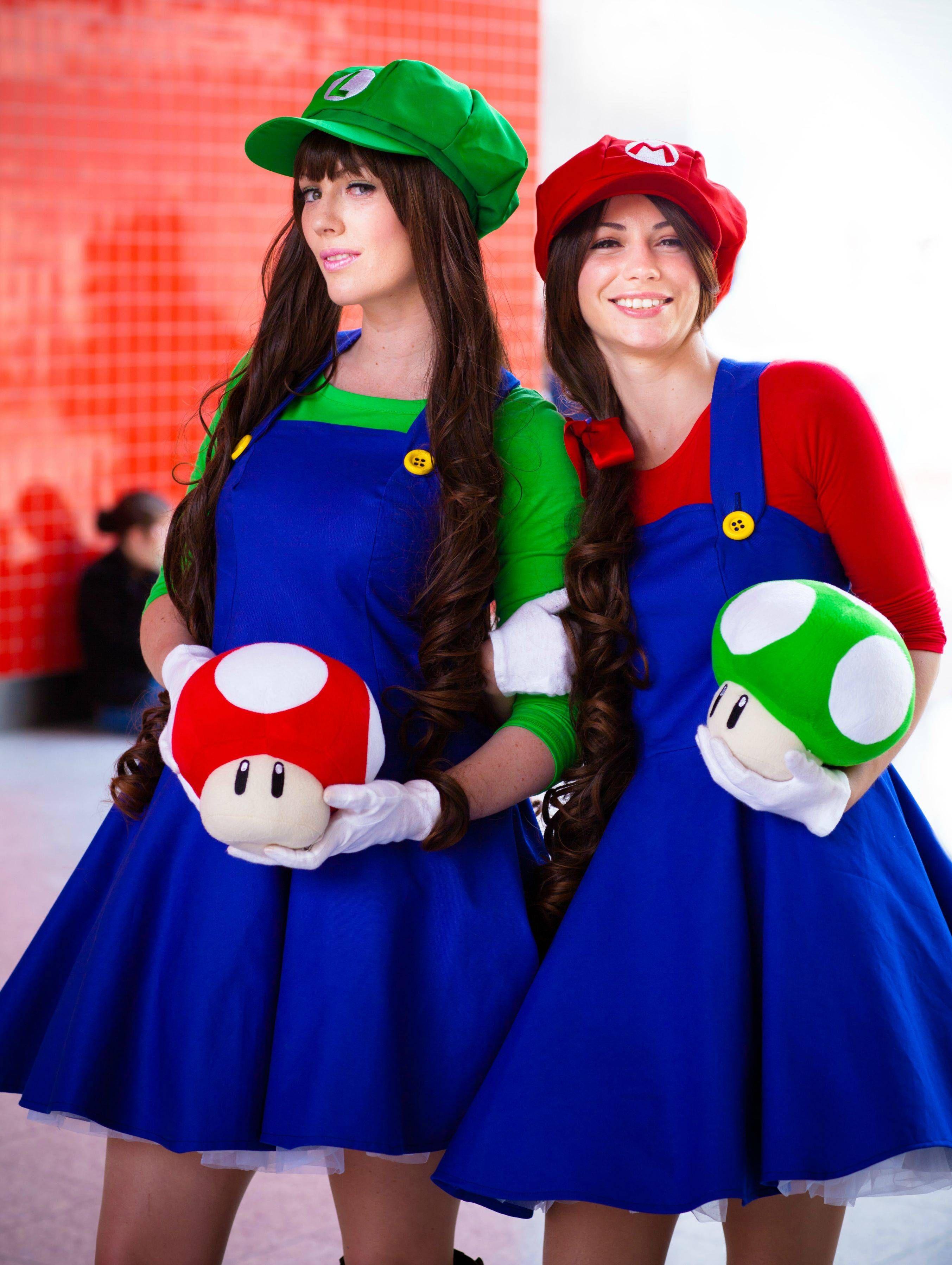 Mario Bros Mario Luigi Costume   Google Search