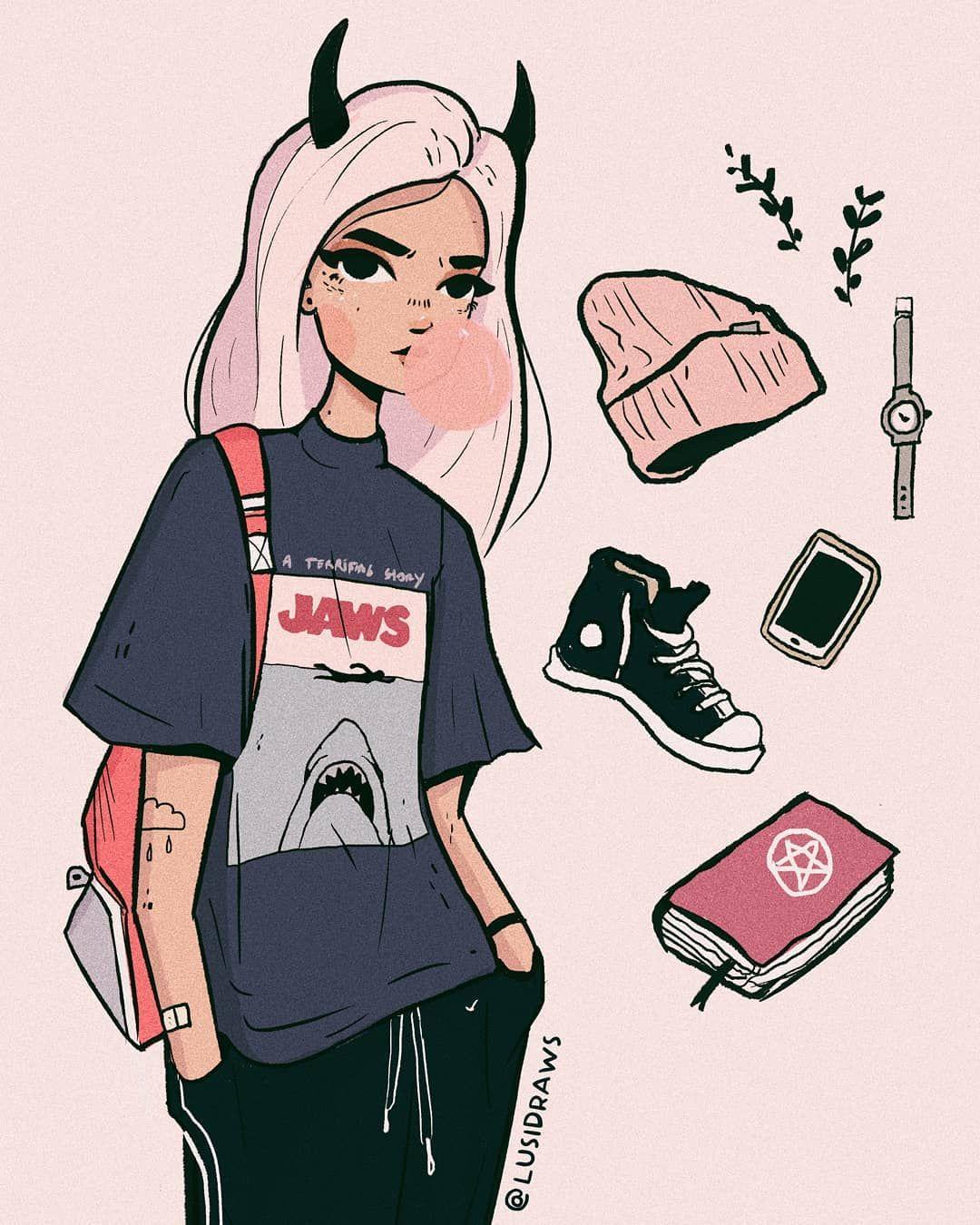 Pin By Yuulyn Yoo On Art In 2020 Cartoon Art Styles Cute Art Styles Character Art