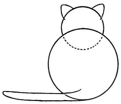 Auf Folgende Seite Erkennen Sie Wie Kann Man Eine Katze Mit Kindern Einfach Zeichnen Die Ku Einfach Zeichnen Zeichnung Tutorial Schritt Fur Schritt Zeichnung