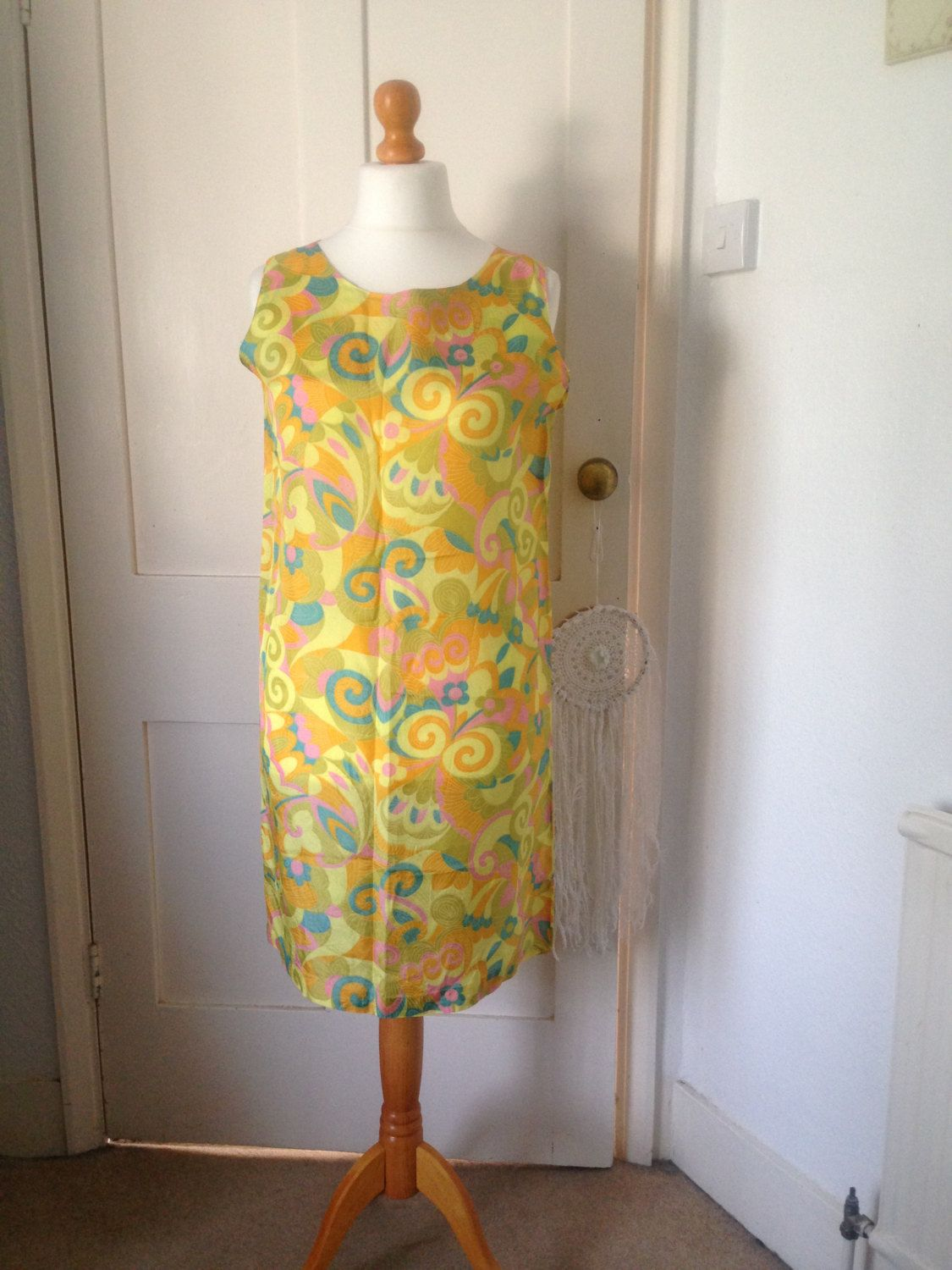 Just listed! Groovy vintage 60s psychedelic flower power dress in my @Etsy shop https://www.etsy.com/uk/listing/243845083/vintage-60s-dress-psychedelic-mod