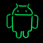 Google Launch Official Neon Android Light