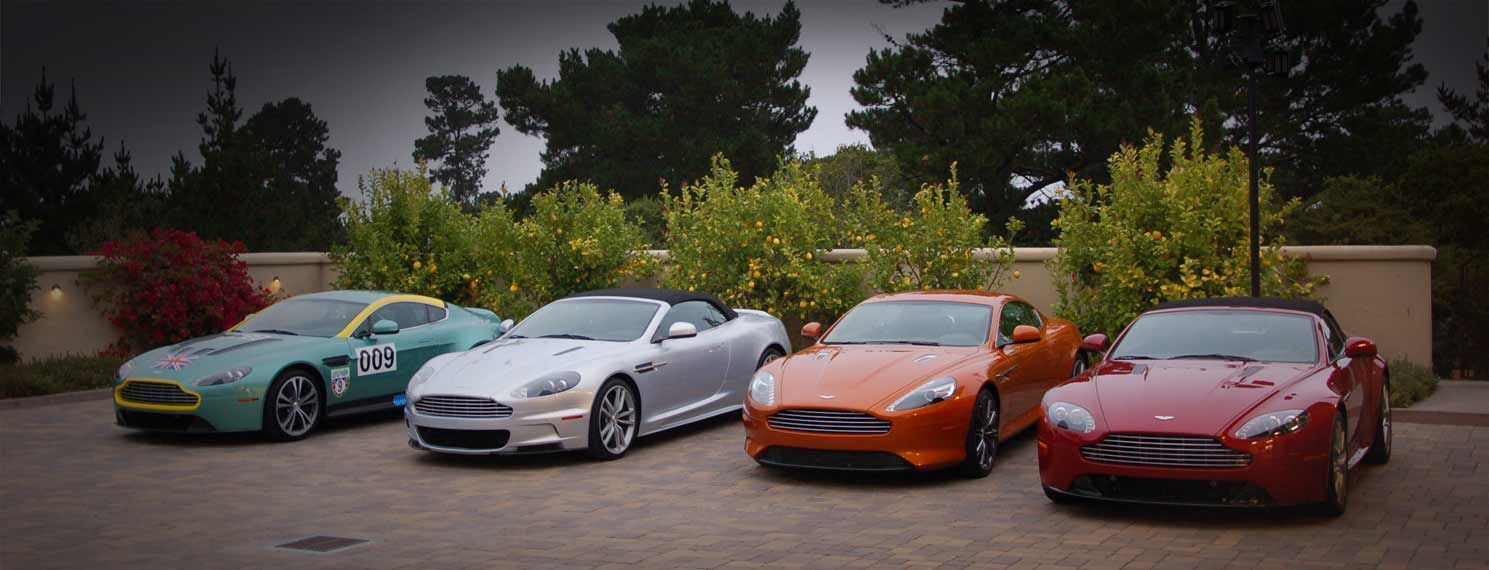 Pebble Beach Automotive Week -- Another parking lot in Heaven.