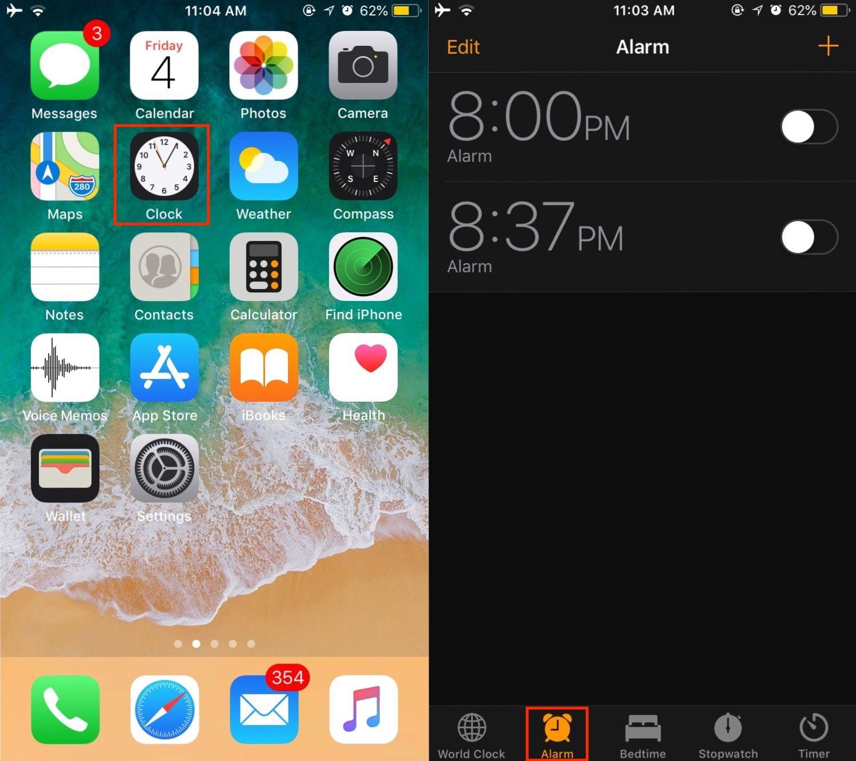 Iphone Alarms Not Working Alarm Clock Iphone Iphone Memo App