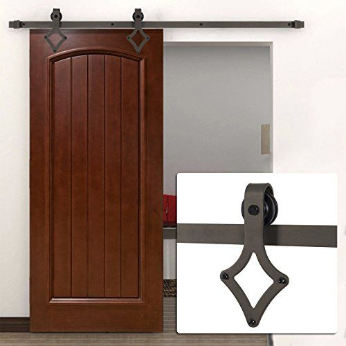 Tms Slidingdoorhardware Oj Tsq07 Orb Horseshoe Barn Wood Sliding