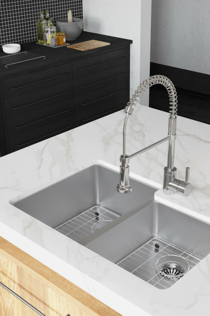 Modern Luxe Kitchens Are Possible With Our Line Of Stainless Steel