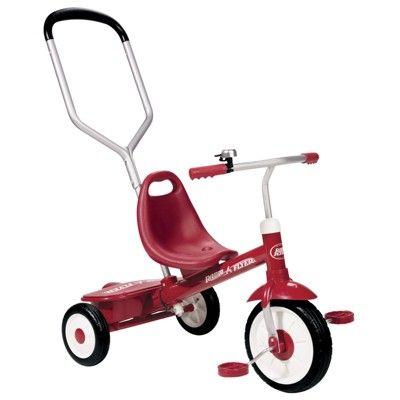 Radio Flyer Steer Stroll Trike Red Toddler Tricycle Radio Flyer Kids Trike
