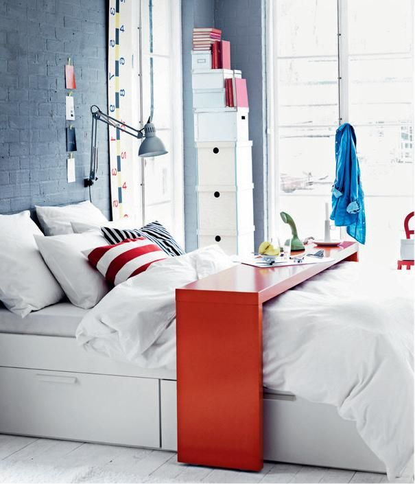 superb Ikea Malm Bed Table Part - 6: Pinterest