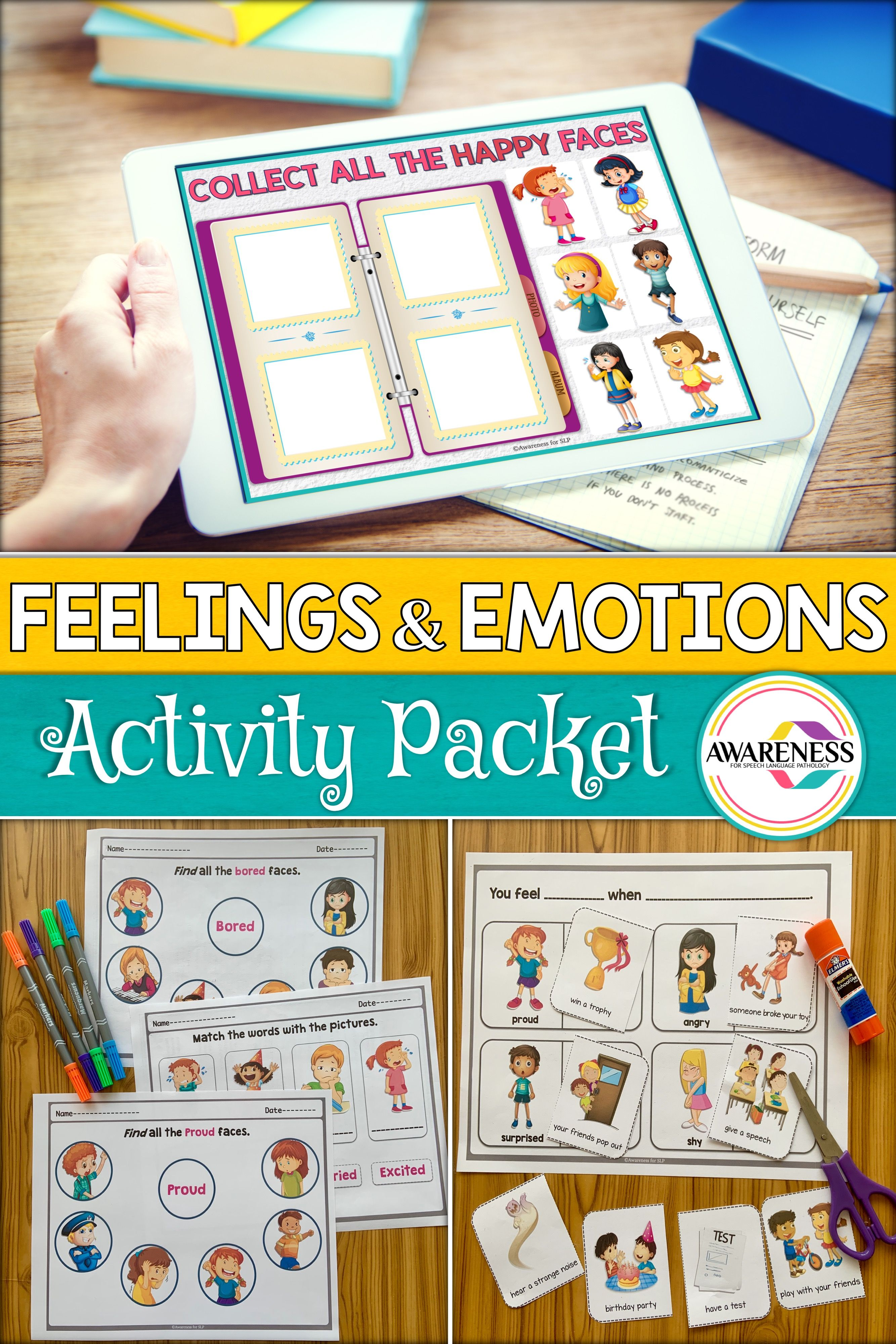 This Feelings And Emotions Activity Pack Includes A