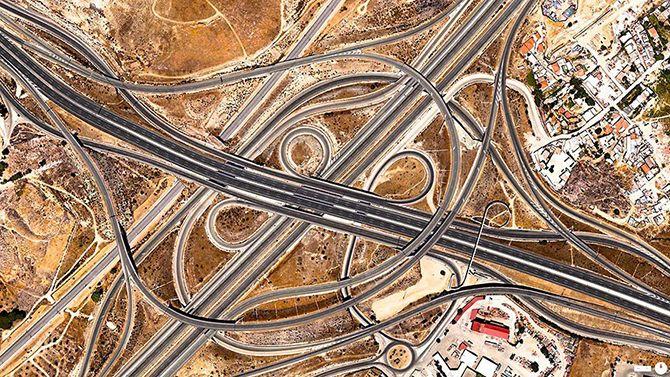 Мадрид, Іспанія. Вражаючі супутникові знімки про те, як ми змінили Землю