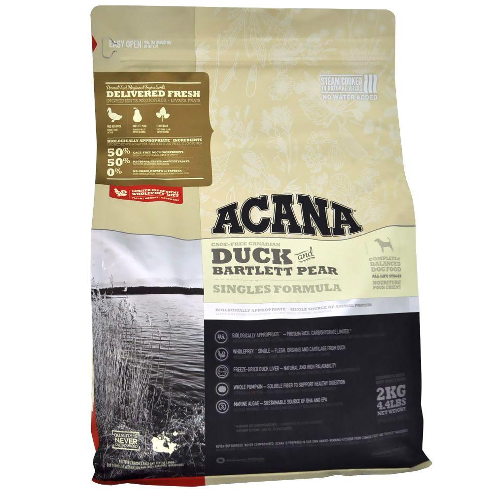 Acana grain free duck pear bartlett pears grain free